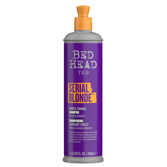Serial Blonde Purple Toning - Lila Hamvasító Sampon 400 ml
